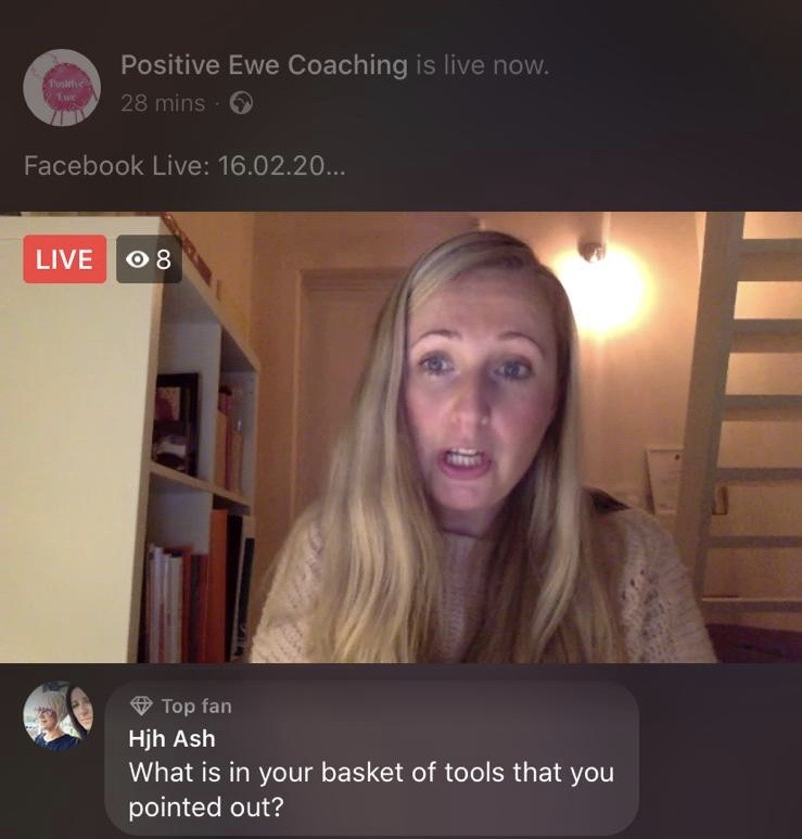 Facebook Live - What is Coaching?